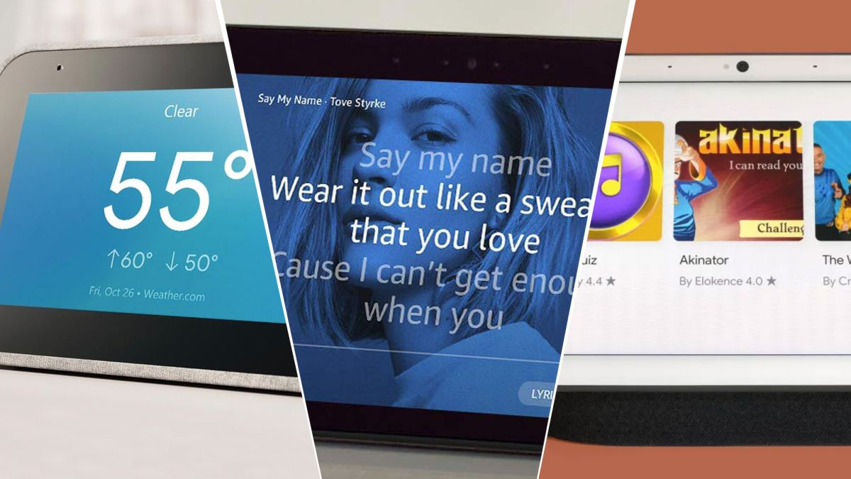 Best smart displays 2020: which screens are worth your while?