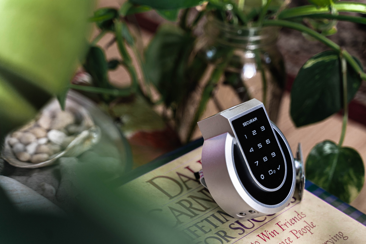Securam Touch smart lock review: It might look more at home on a military base, but this fingerprint reader-equipped lock offers solid security