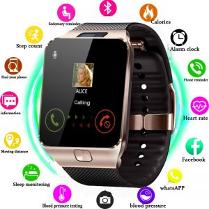 Bluetooth Smart Watch DZ09 Smartwatch Sleep monitor Alarm Clock Dial Answer Call SIM TF Card Camera Smart watch For Android