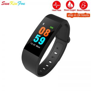 J20 Smart Bracelet Wristband Blood Presure Oxygen Fitness Tracker Heart Rate Smart Band for OPPO A7x A5 A3 A1 R11s Plus R9s Plus