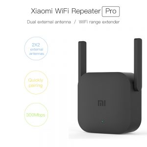 Original Xiaomi Pro 300M WiFi Router Amplifier Network Expander Repeater Power 2.4G Extender Roteador 2 Antenna for Mi Router