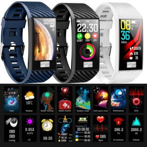 Sports Smart Watch 2020 Men Blood Pressure Heart Rate Band Bluetooth Bracelet for Apple iPhone Galaxy Oppo Realme Android Phones