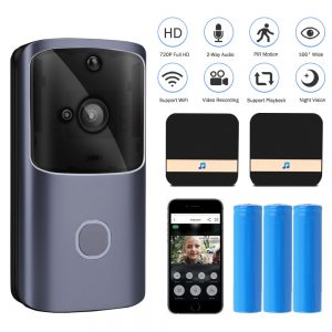 WIFI Doorbell Smart Home Wireless Phone Door Bell Camera Security Video Intercom 720P HD IR Night Vision For Apartments