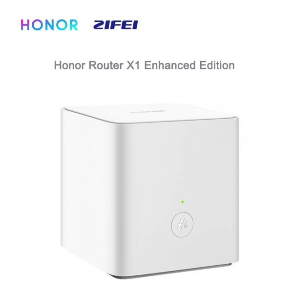 HUAWEI Honor Router X1 Enhanced Version Wireless Router 2.4G/5G 1167Mbps Dual -Band Gigabit APP Control WiFi Repeater