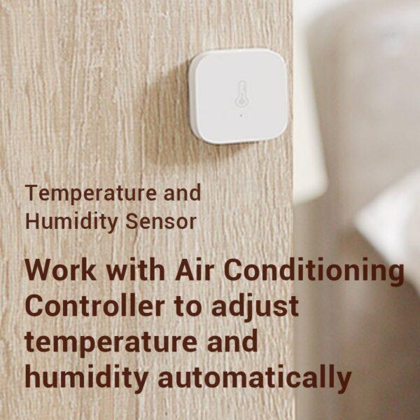 Xiaomi AQara Smart Temperature Humidity Sensor , ZigBee Wifi Wireless Work With xiaomi smart home mijia Mi home App 5