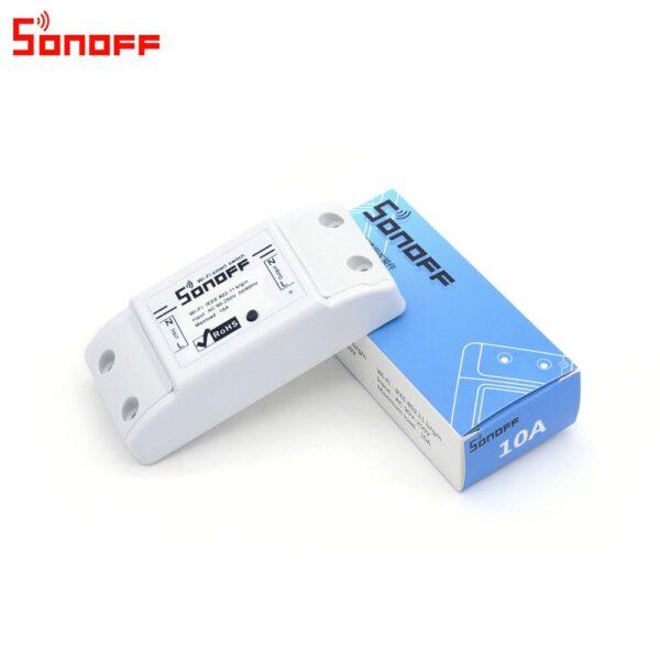 Itead Sonoff Smart Wifi Switch DIY Smart Wireless Remote Switch Domotica Wifi Light Switch Smart Home 3