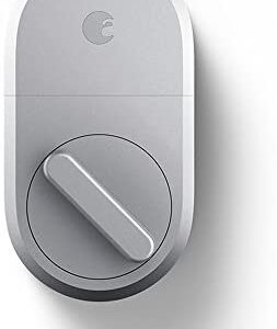 August Smart Lock – Keyless Home Entry with Your Smartphone – Silver – – Amazon.com Smart Home - Office smart lock